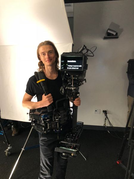 Wireless Steadicam with Neil Tanner Teleprompter